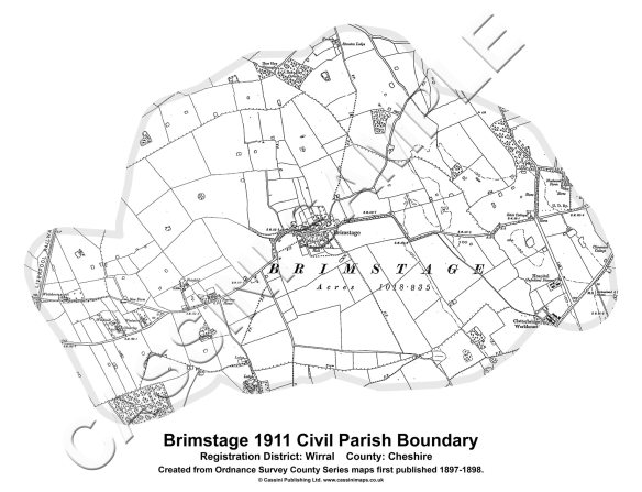Cassini Old Parish Map